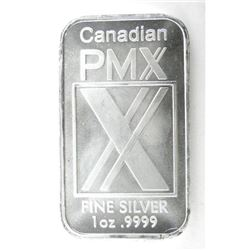 .999 Fine Silver Bar. 1oz.
