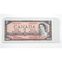 Bank of Canada 1954 2.00 (AU)