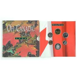 1994 - OH CANADA Coin Set Gift Folio