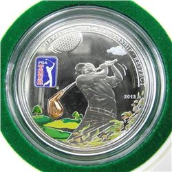 925 Sterling Silver $5.00 Proof - PGA Tour LE 2500
