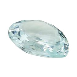 7.01 ct. Natural Pear Cut Aquamarine