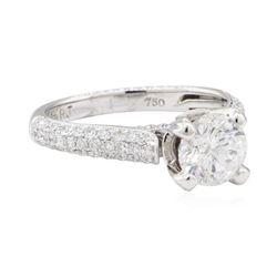 1.50 ctw Diamond Ring - 18KT White Gold