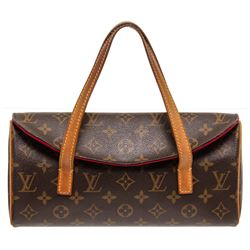 Louis Vuitton Monogram Canvas Leather Sonatine Bag