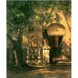 Sunlight and Shadow 2 by Albert Bierstadt