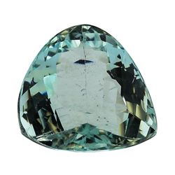 5.26 ct.Natural Pear Cut Aquamarine