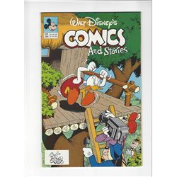 Walt Disneys Comics and Stories Issue #555 by Disney Comics