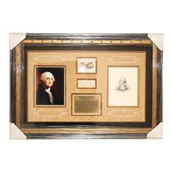 President George Washington Autographed Collage