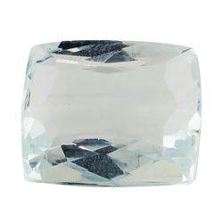 7.89 ct.Natural Rectangle Cushion Cut Aquamarine