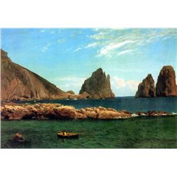 Capri by Albert Bierstadt
