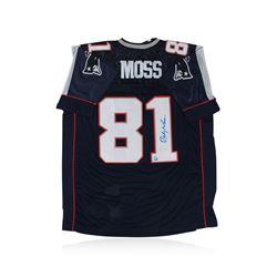 New England Patriots Randy Moss Autographed Jersey