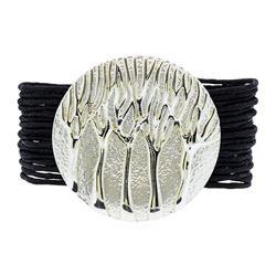 Multi Strand Bracelet - Rhodium Plated