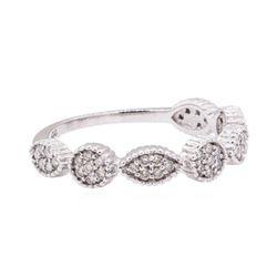 0.28 ctw Diamond Ring - 14KT White Gold