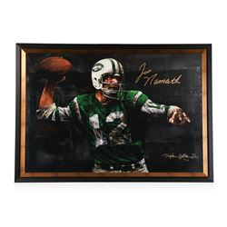 Joe Namath Signed Limited Edition Stephen Holland - Framed on