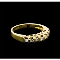 0.45 ctw Diamond Ring - 14KT Yellow Gold