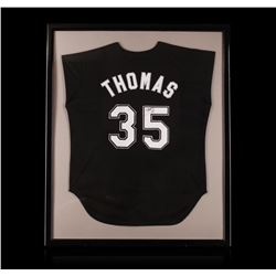 Frank Thomas Framed Autographed Jersey