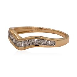 0.45 ctw Diamond Ring - 14KT Rose Gold