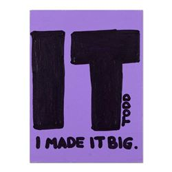 I Made It Big by Goldman Original