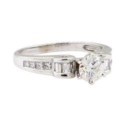 1.59 ctw Diamond Ring - 14KT White Gold