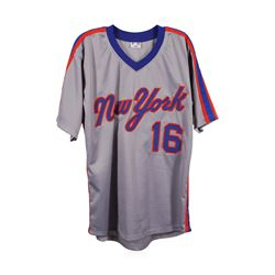 New York Mets Dwight Gooden Autographed Jersey