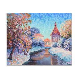 Snow In the Village by Antanenka Original