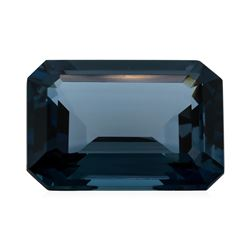 30.45 ct. Natural Emerald Cut London Blue Topaz