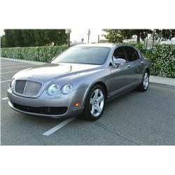 2007 Silver Bentley Continental Flying Spur