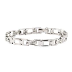 0.80 ctw Diamond Bracelet - 14KT White Gold