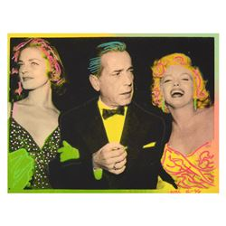 "Marilyn, Bogart, and Bacall by ""Ringo"" Daniel Funes"