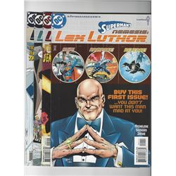 Superman's Nemisis Lex Luther Issue #1-4 by DC Comics