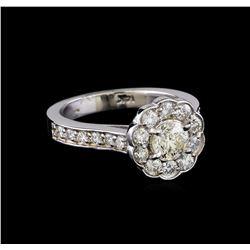 1.50 ctw Diamond Ring - 14KT White Gold