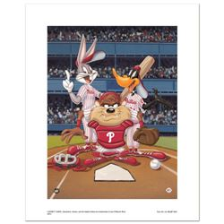 At the Plate (Phillies) by Looney Tunes