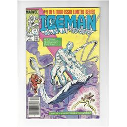 Ice-Man Limited Series #1-4 by Marvel Comics