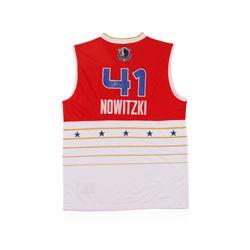 NBA Western All-Star Dirk Nowitzki Autographed Jersey