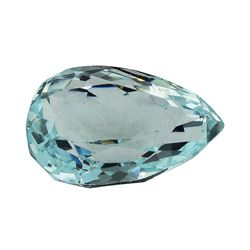 5.94 ct.Natural Pear Cut Aquamarine