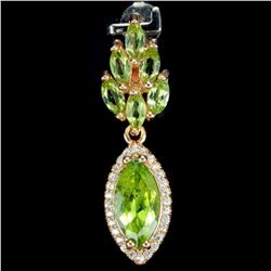 NATURAL AAA GREEN PERIDOT Pendant