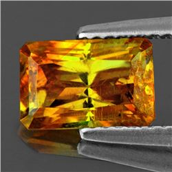 Natural Bi-Color Orange/Yellow Sphalerite 11x8 MM - VVS