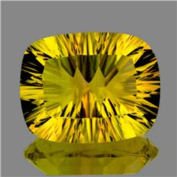 Natural Canary Yellow Fluorite 19.21 ct - Flawless