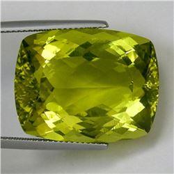 Natural Cushion Prasiolite Gemstone 36.52 - IF