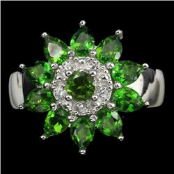 Natural Top Rich Green Chrome Diopside
