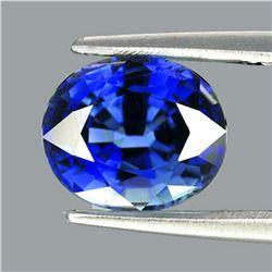 Natural Kashmir  Blue Sapphire 5x4 MM - VVS