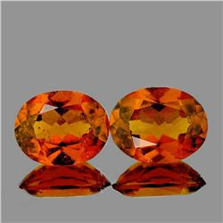 NATURAL HOT CINNAMON ORANGE HESSONITE GARNET [VVS]