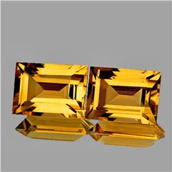 NATURAL GOLDEN YELLOW CITRINE 8x6 MM - FL