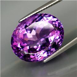 Natural Purple  Amethyst 16.28 Cts - Untreated