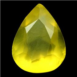 AWESOME CERTIFIED 3.90 CT YELLOW MEXICAN OPAL