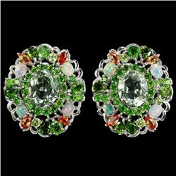 Natural AMETHYST OPAL CHROME DIOPSIDE SAPPHIRE