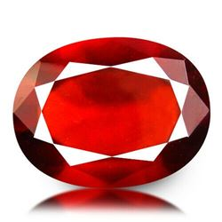 Natural HESSONITE GARNET OVAL CUT 7.35 Ct - Untreated