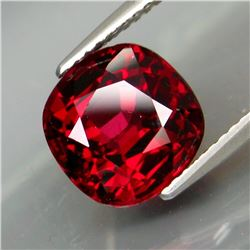 Natural Cherry Red Rhodolite Garnet 5.12 Ct - Untreated