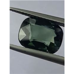 Natural Unreated Olive Green Sapphire 5.00 Cts - VVS