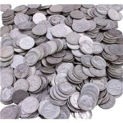 (200) Roosevelt Dimes 90% Silver