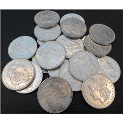 (20) Random Mixed Dates - BU Morgan Dollars